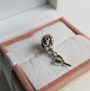 PANDORA Charm Silver Vintage Scissors Dangle